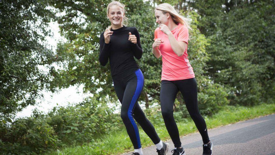 Motion og løb på efterskole